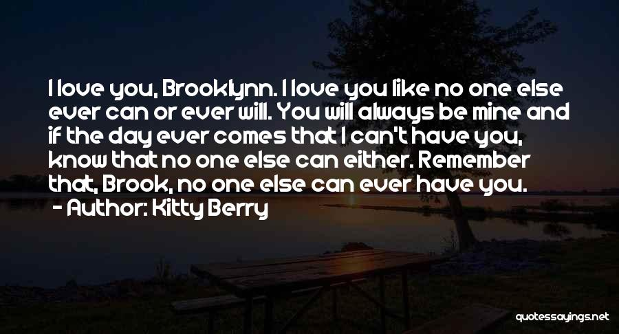 Kitty Berry Quotes 2202319