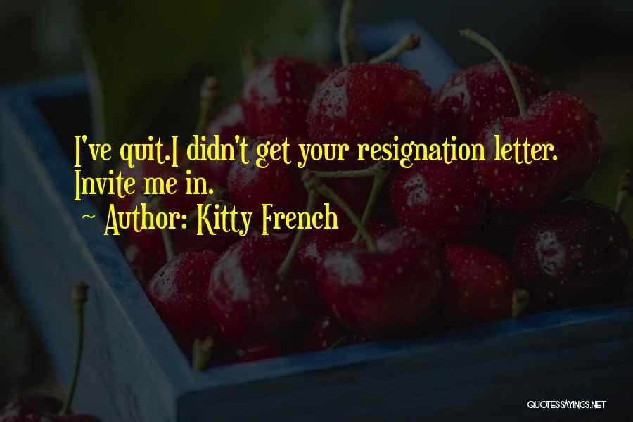 Kitty French Quotes 1804495
