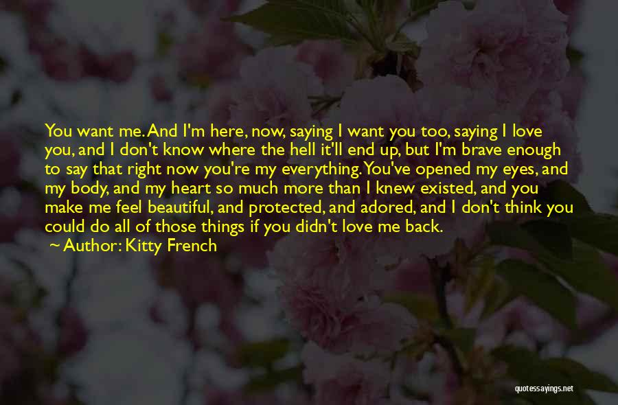 Kitty French Quotes 872439