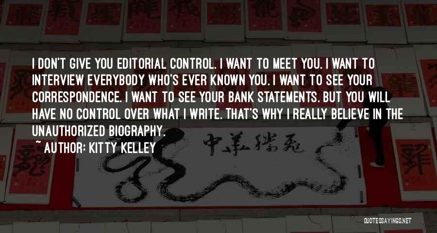 Kitty Kelley Quotes 889899