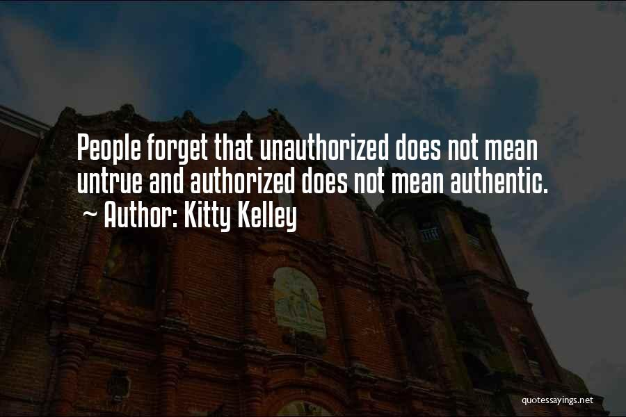 Kitty Kelley Quotes 968037