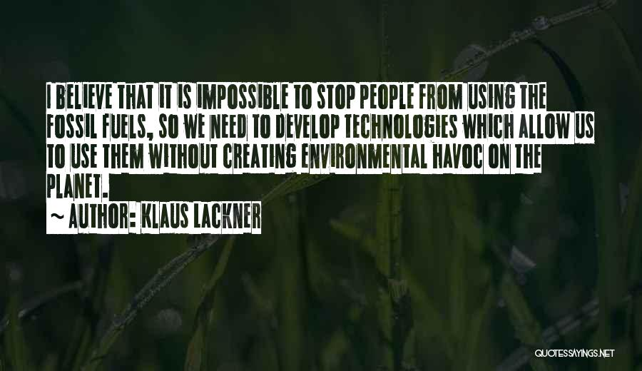 Klaus Lackner Quotes 1221587