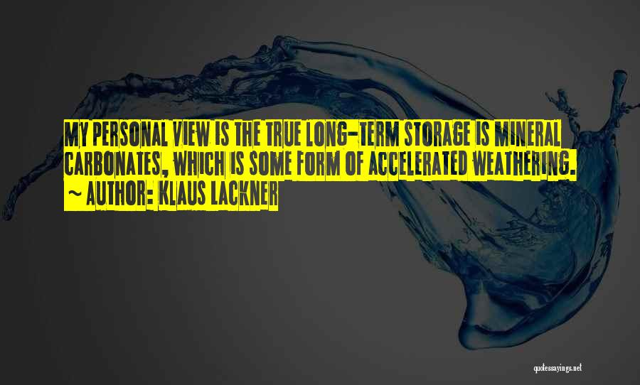 Klaus Lackner Quotes 1848950