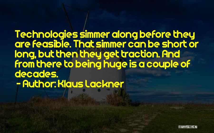 Klaus Lackner Quotes 1965152