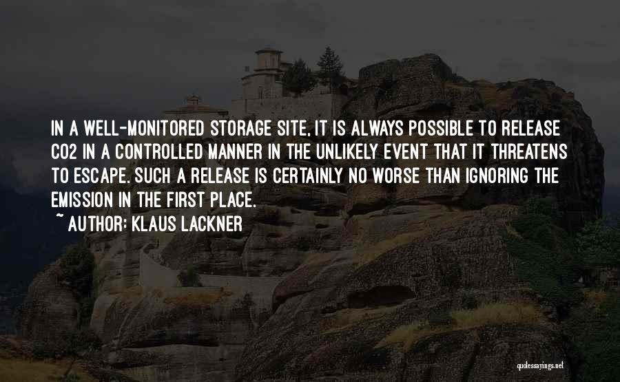 Klaus Lackner Quotes 670179