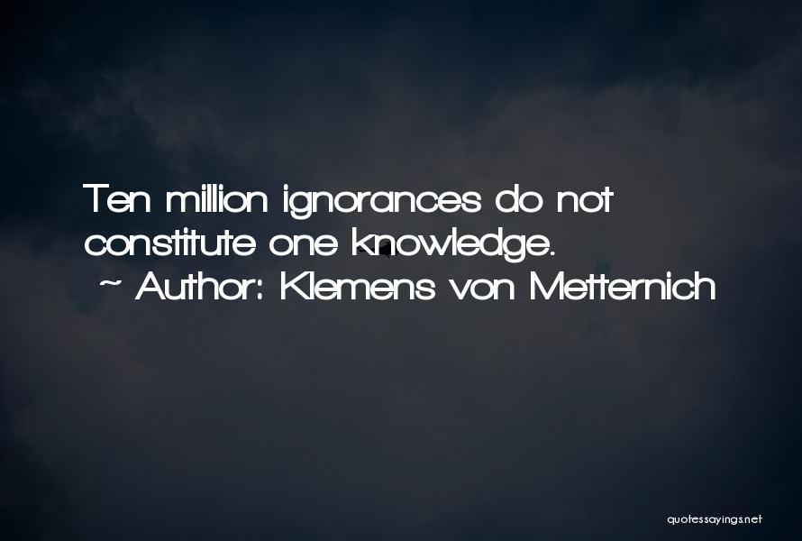 Klemens Von Metternich Quotes 1138973