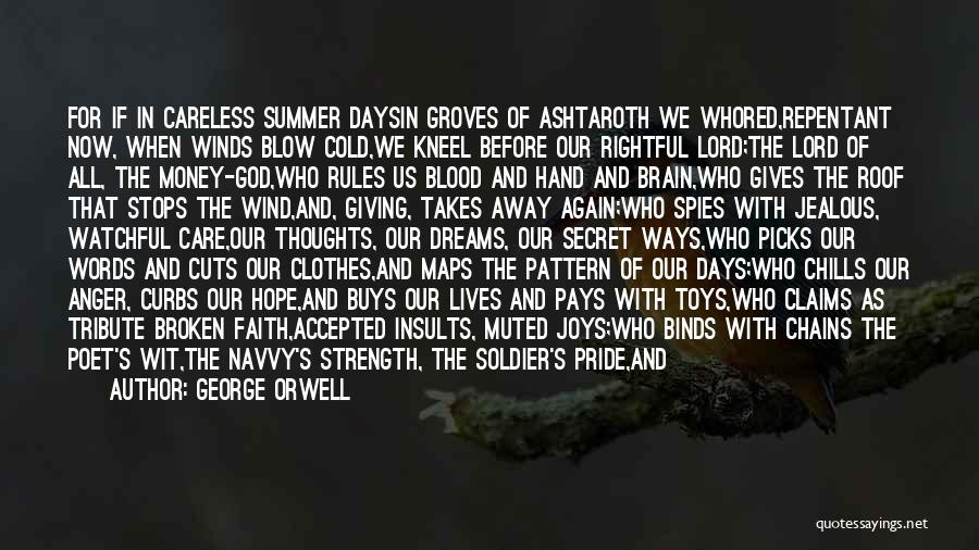 Kneel Before God Quotes By George Orwell
