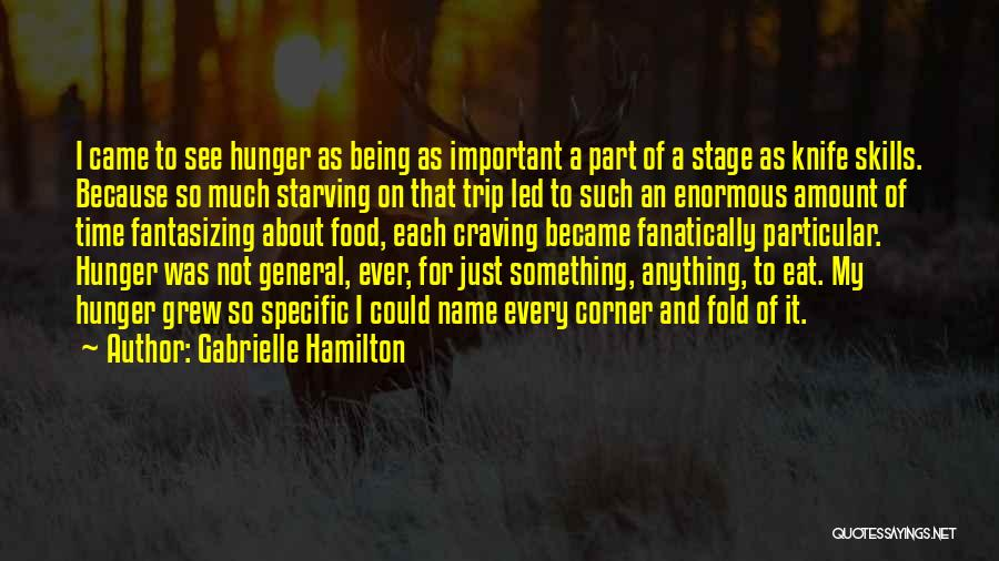 Knife Skills Quotes By Gabrielle Hamilton