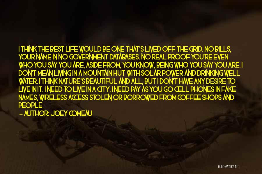 Knife Skills Quotes By Joey Comeau