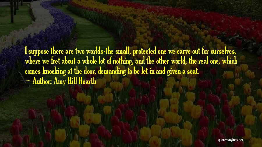 Knocking Quotes By Amy Hill Hearth