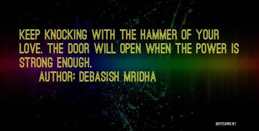 Knocking Quotes By Debasish Mridha