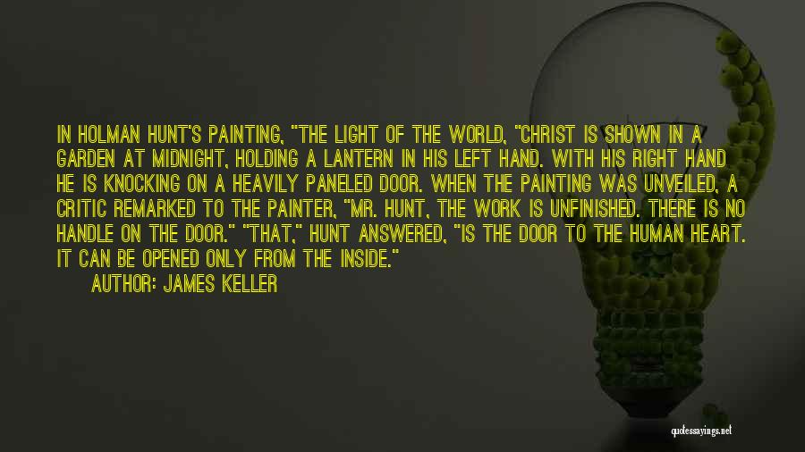 Knocking Quotes By James Keller