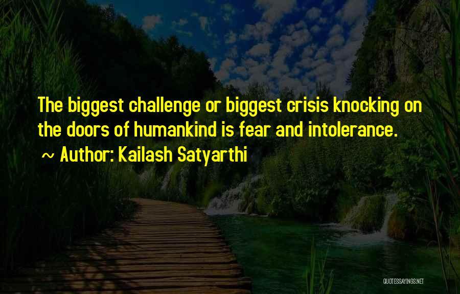 Knocking Quotes By Kailash Satyarthi