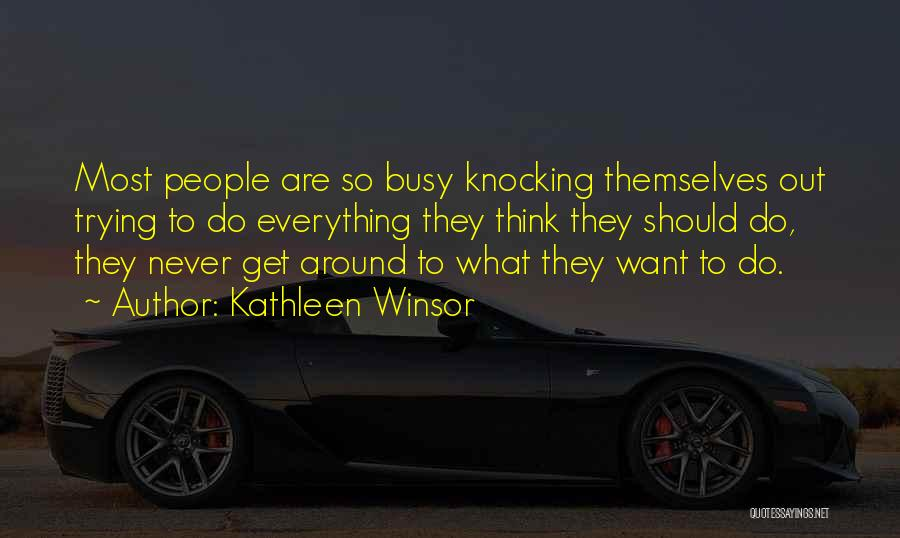 Knocking Quotes By Kathleen Winsor