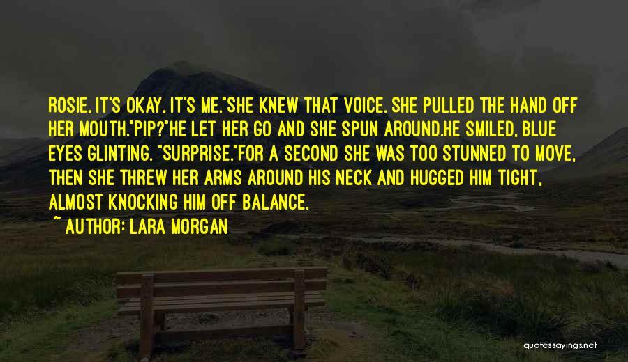 Knocking Quotes By Lara Morgan