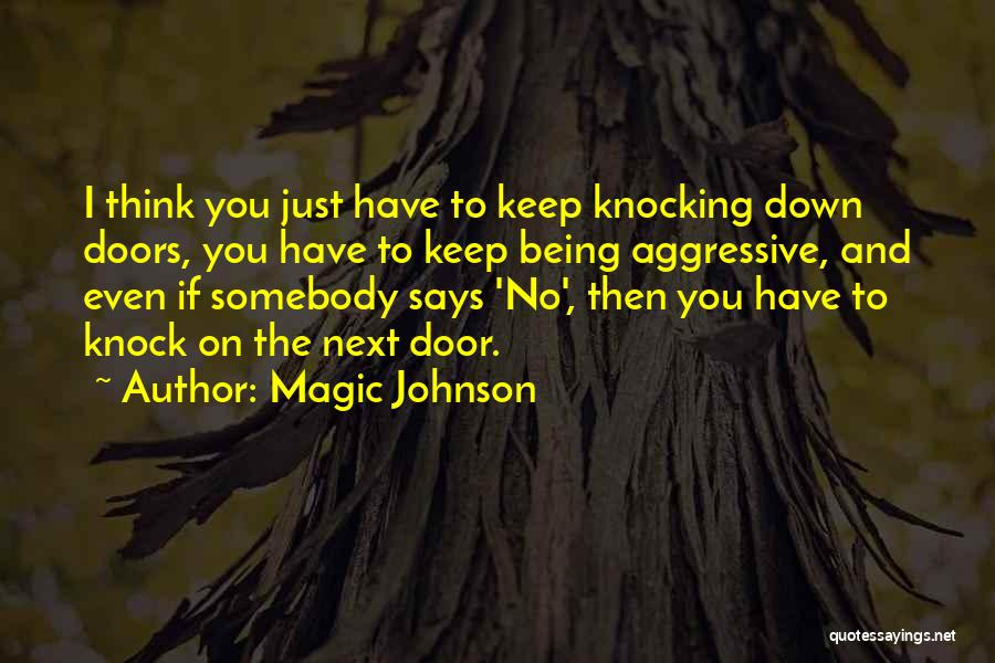 Knocking Quotes By Magic Johnson