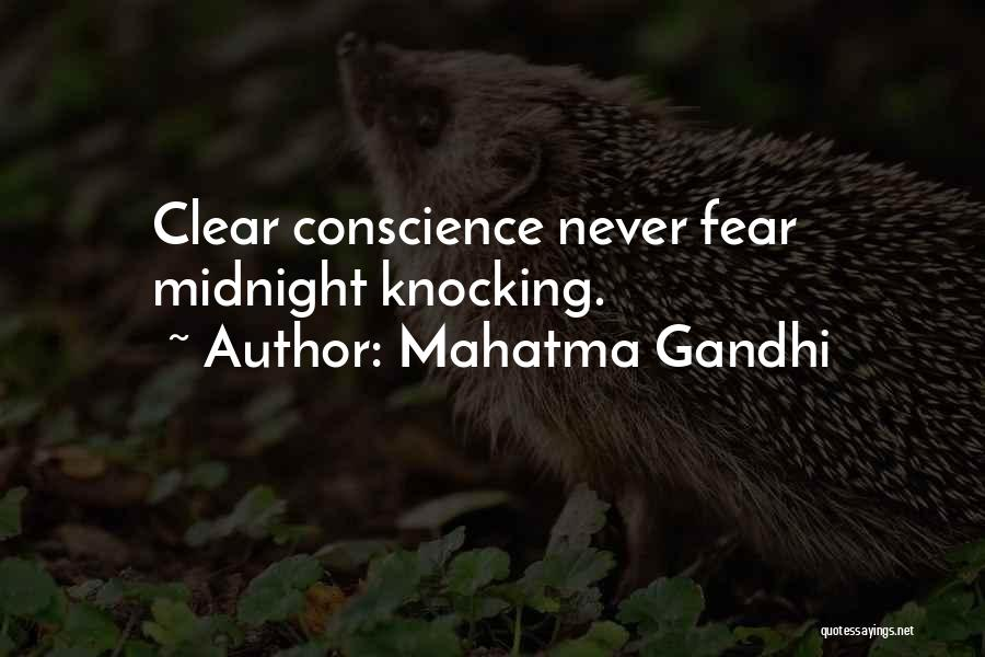 Knocking Quotes By Mahatma Gandhi