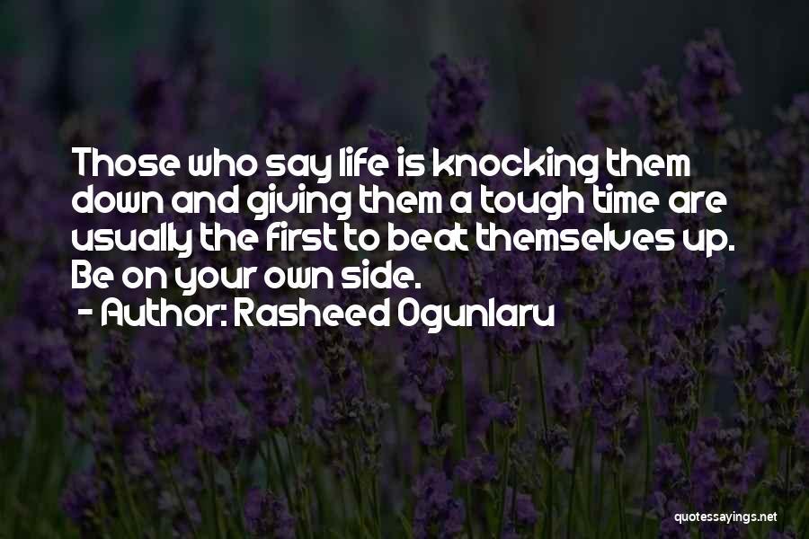 Knocking Quotes By Rasheed Ogunlaru