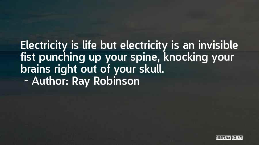 Knocking Quotes By Ray Robinson