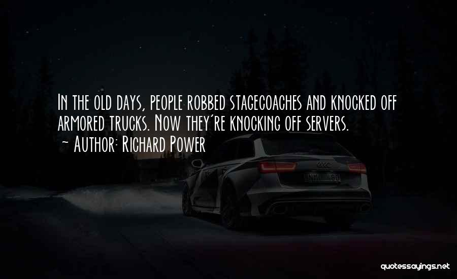Knocking Quotes By Richard Power