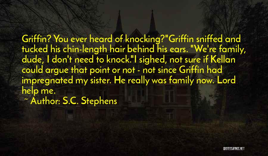 Knocking Quotes By S.C. Stephens