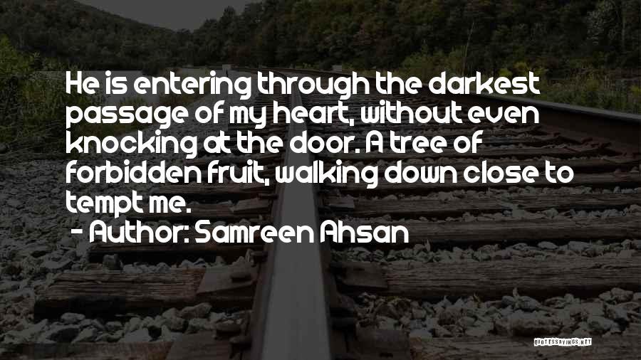 Knocking Quotes By Samreen Ahsan