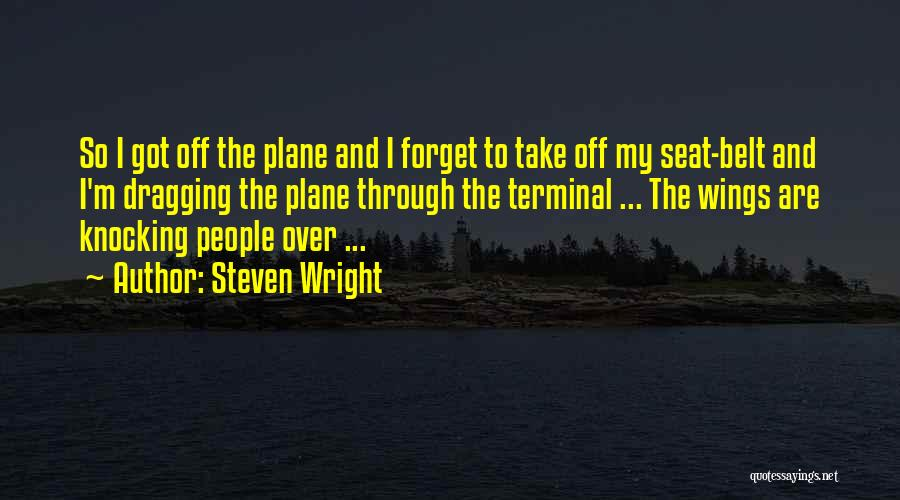 Knocking Quotes By Steven Wright