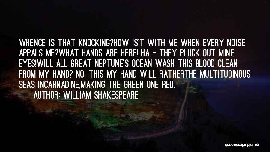 Knocking Quotes By William Shakespeare
