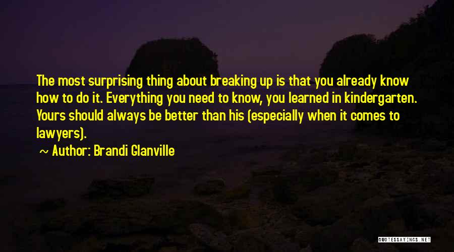 Know He Cheating Quotes By Brandi Glanville