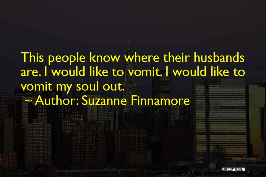 Know He Cheating Quotes By Suzanne Finnamore