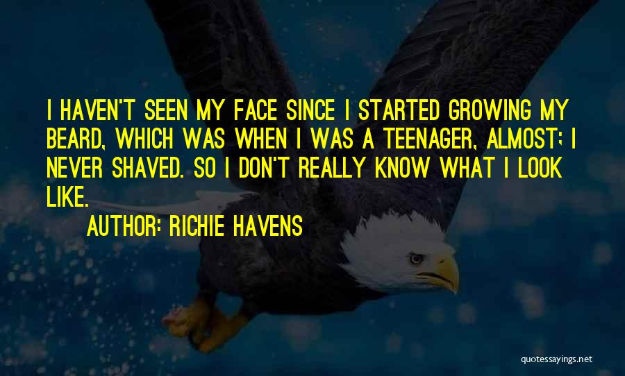 Know It All Teenager Quotes By Richie Havens
