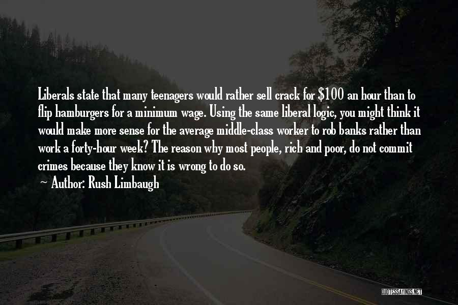 Know It All Teenager Quotes By Rush Limbaugh