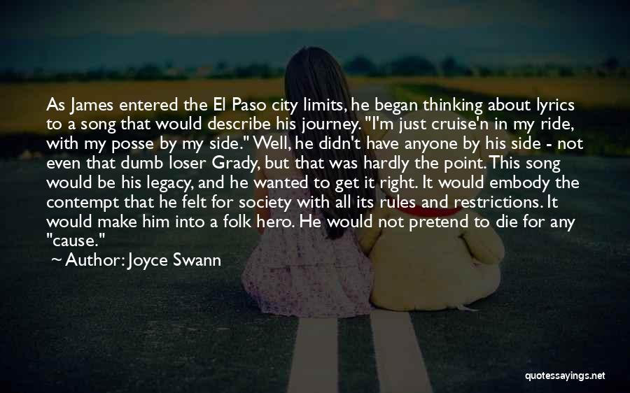 Know My Limits Quotes By Joyce Swann