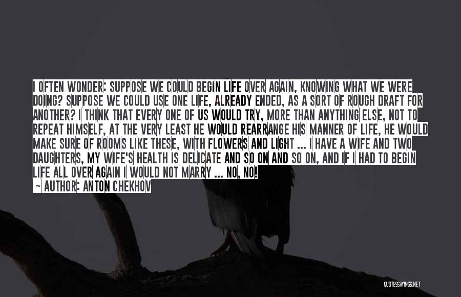 Knowing He Is The One Quotes By Anton Chekhov
