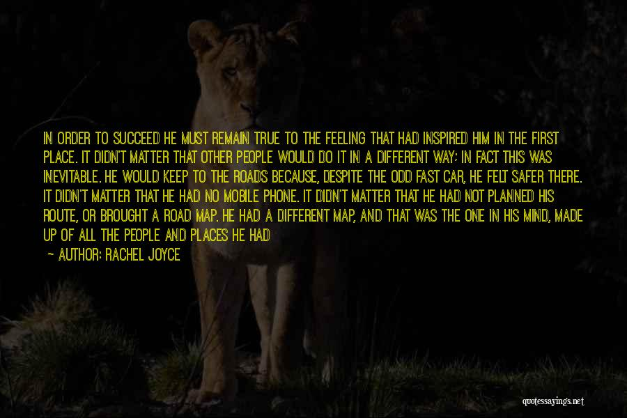 Knowing He Is The One Quotes By Rachel Joyce