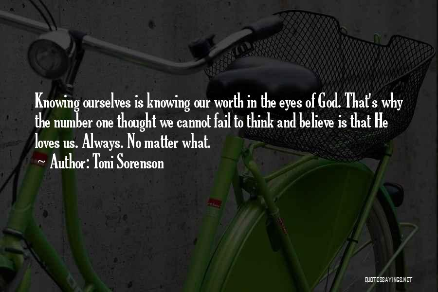 Knowing He Is The One Quotes By Toni Sorenson