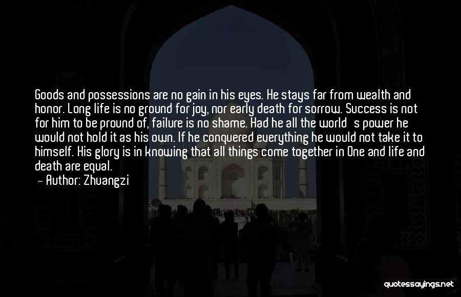 Knowing He Is The One Quotes By Zhuangzi