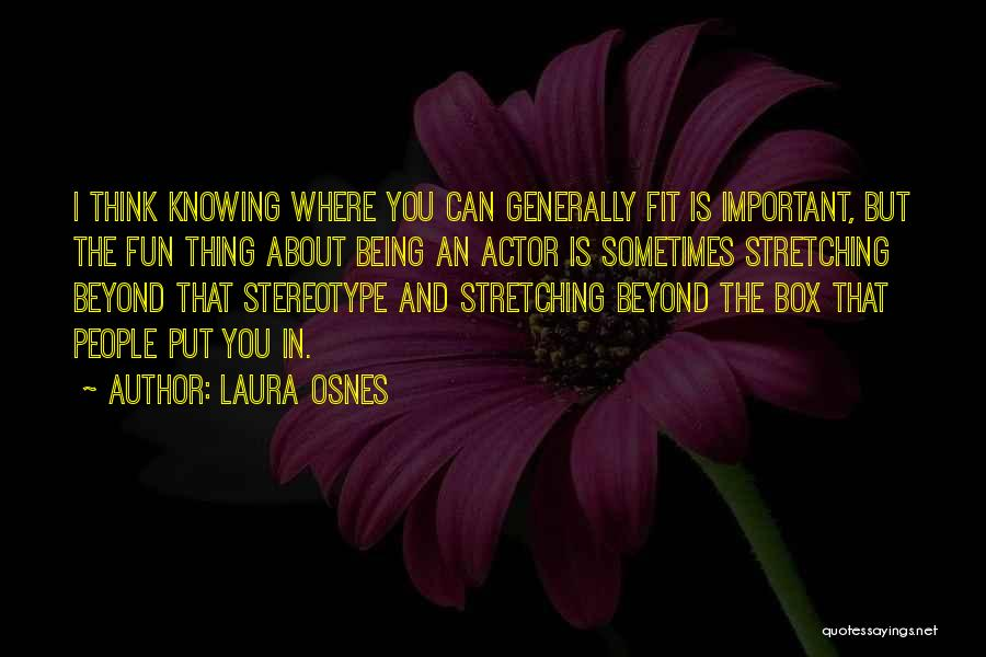 Knowing How To Have Fun Quotes By Laura Osnes