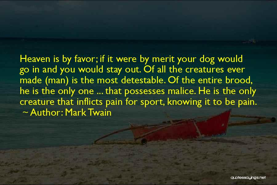Knowing If He's The One Quotes By Mark Twain