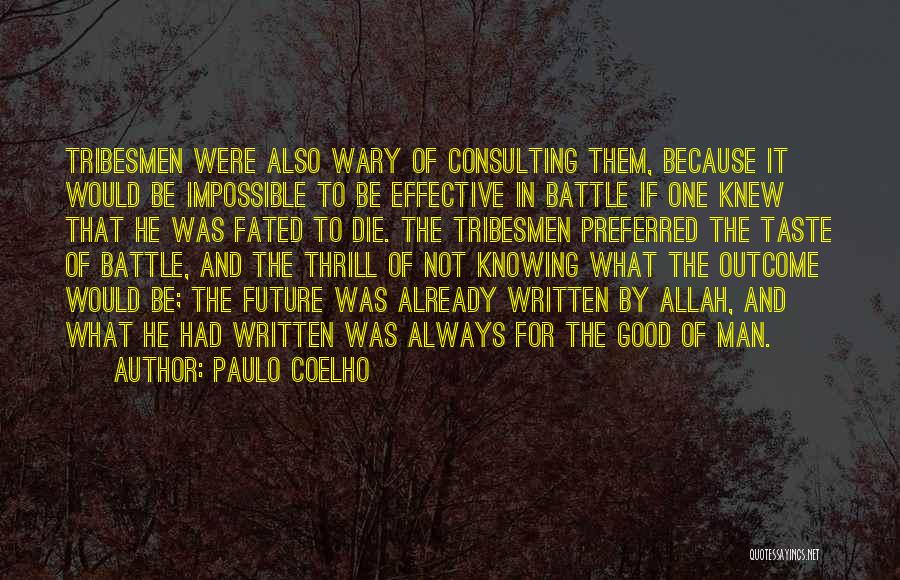 Knowing If He's The One Quotes By Paulo Coelho