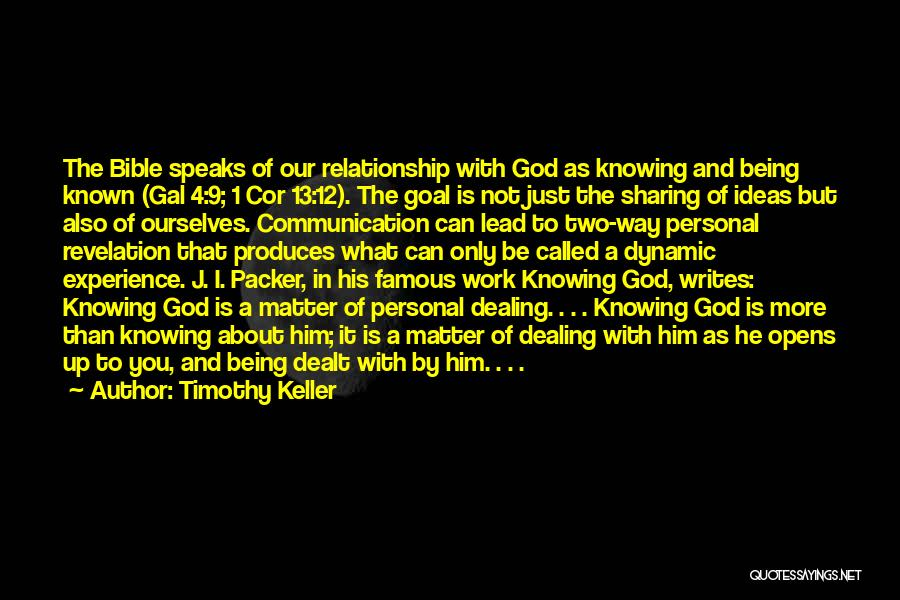 Knowing If He's The One Quotes By Timothy Keller