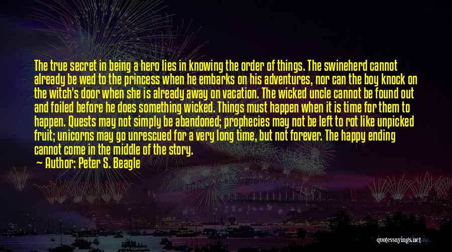 Knowing Someone For A Long Time Quotes By Peter S. Beagle