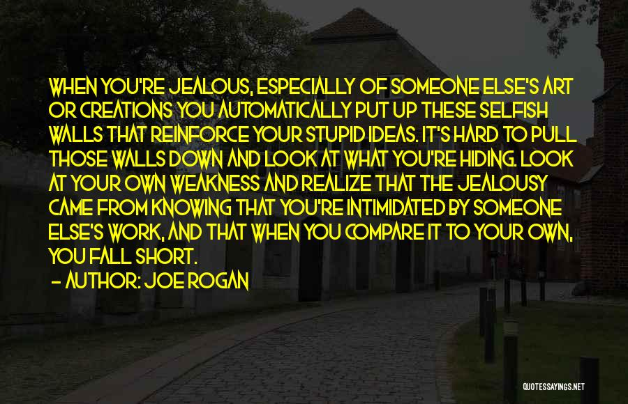 Knowing Someone Is Hiding Something From You Quotes By Joe Rogan