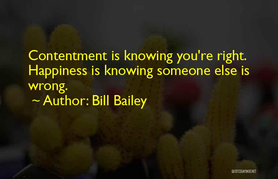 Knowing Something Is Wrong Quotes By Bill Bailey