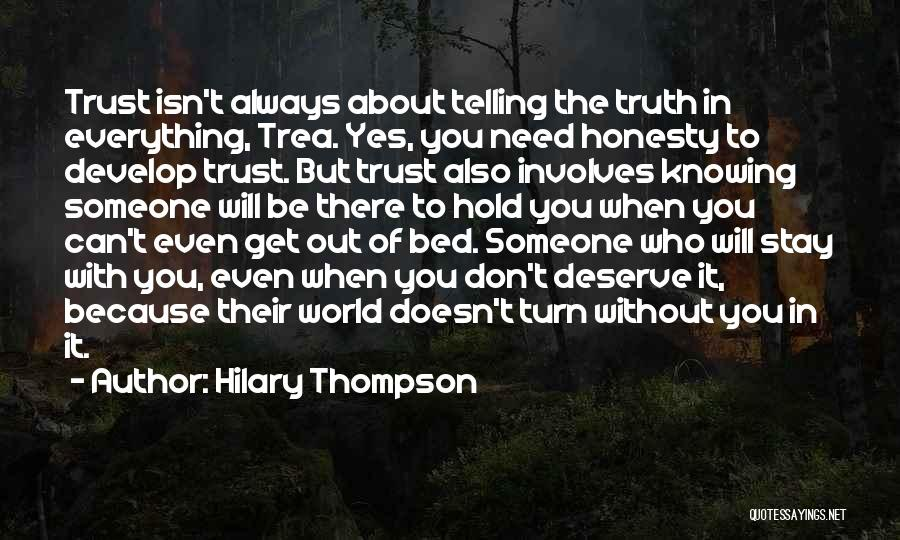 Quotes about knowing the truth about someone