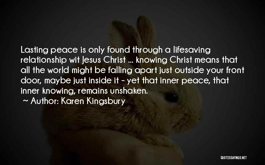 Knowing When A Relationship Is Over Quotes By Karen Kingsbury