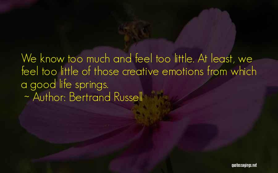 Knowledge And Creativity Quotes By Bertrand Russell