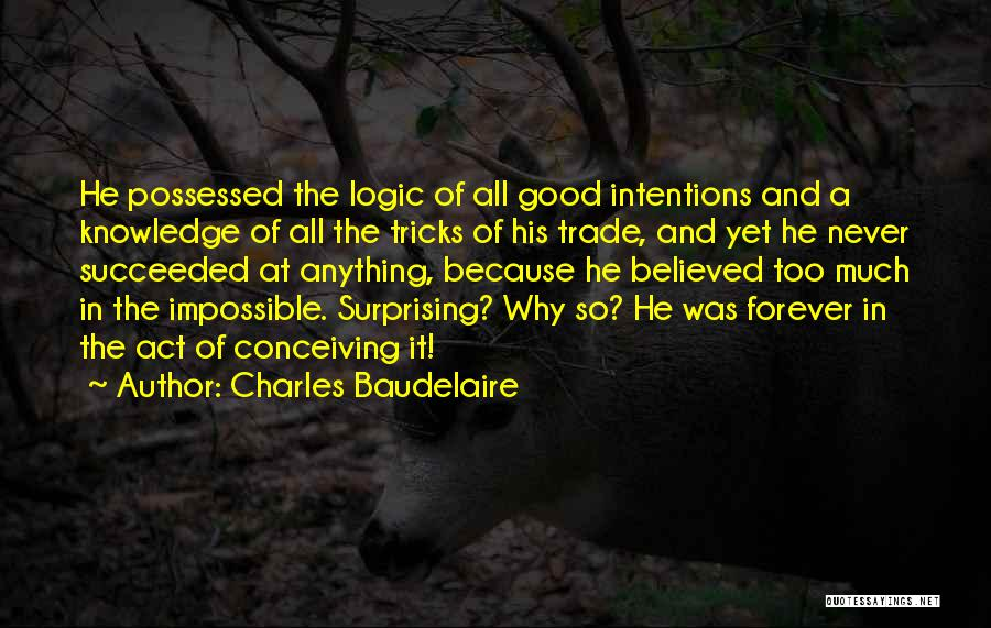 Knowledge And Creativity Quotes By Charles Baudelaire