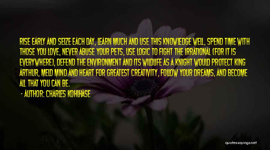 Knowledge And Creativity Quotes By Charles Kohlhase