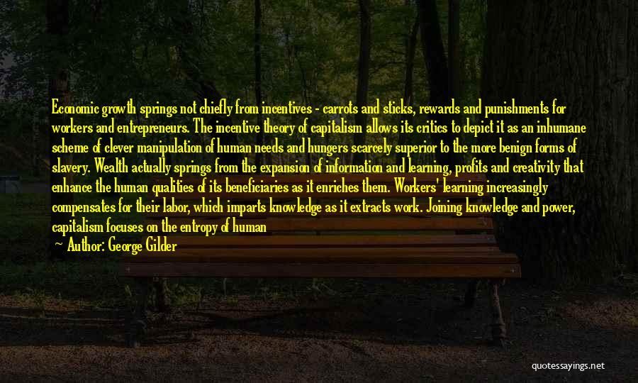 Knowledge And Creativity Quotes By George Gilder